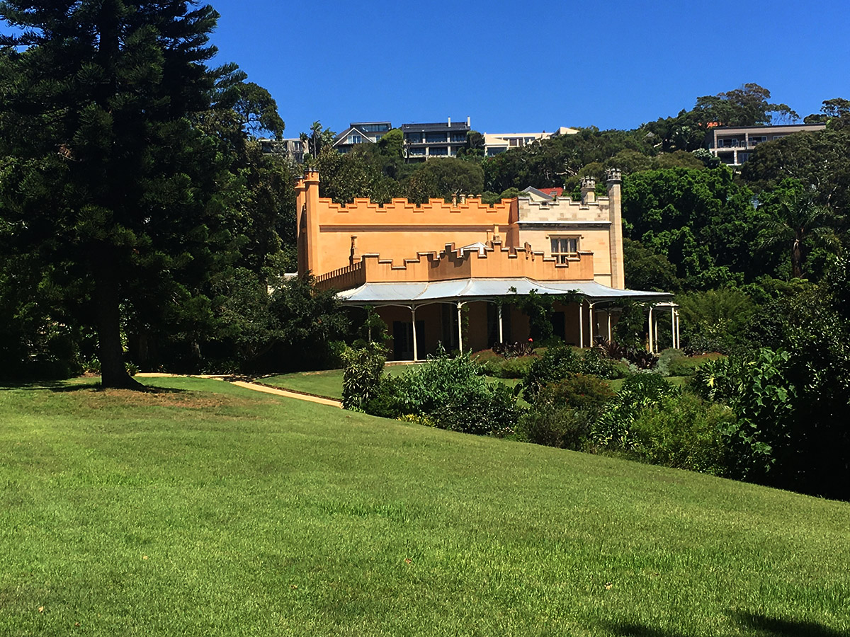View of Vaucluse House