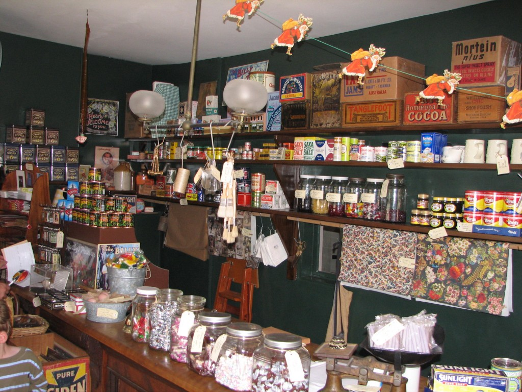 View of inside of The Corner Shop