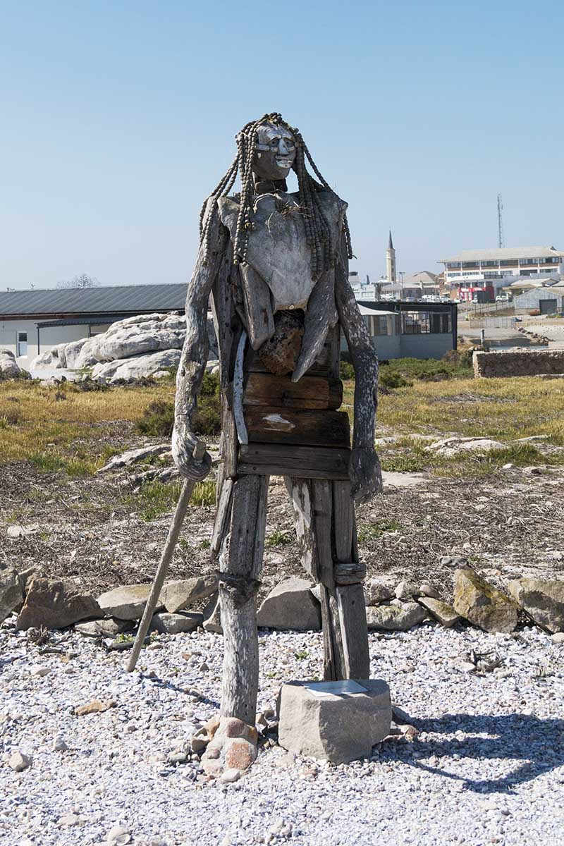 Statue of Driftwood Harry