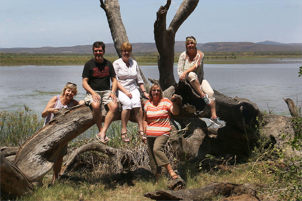 Family at Mkuze