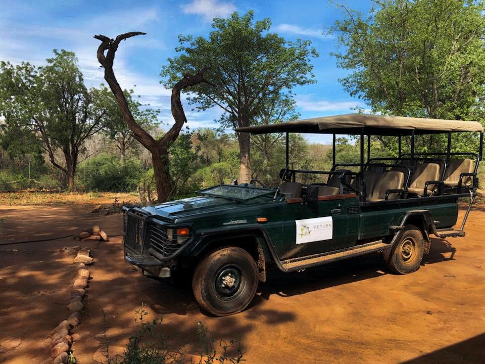 Game Vehicle, Boabab Hill Bush House